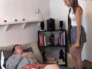 18y Innocent Tiny Teen Fucked By Step Bro Again