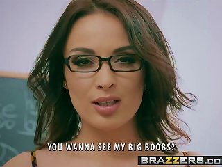 Brazzers - Big Tits At School -  Romance Languages Scene Sta